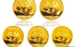 1985年熊猫金币套装回收价格是多少