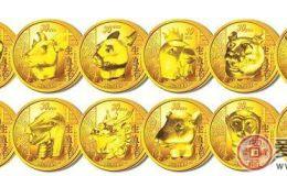 十二生肖金币市场行情