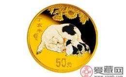 2007年猪年彩色金币价格涨了吗