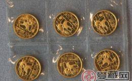 熊猫套装金币市场价格