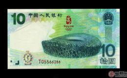 第29届奥运会钞市场行情