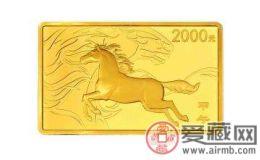 方形马年金(银)马收藏价格