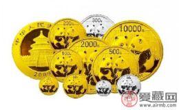 熊猫金银币收藏