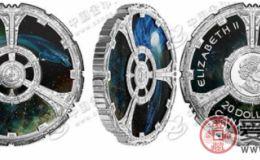 加拿大发行《星际迷航:深空九号》双面彩色纪念银币