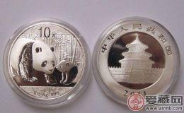 熊猫1盎司银币介绍