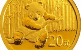 鉴赏熊猫金币