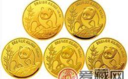 1986年熊猫纪念金币简介