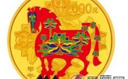 马年5盎司彩金币三大特点