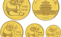 1982年熊猫金币没有面值影响价格吗