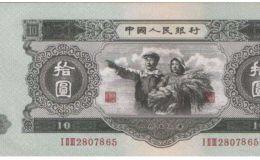 第二套人民幣中這三張不是我們國家制造的,現在價值過萬元!