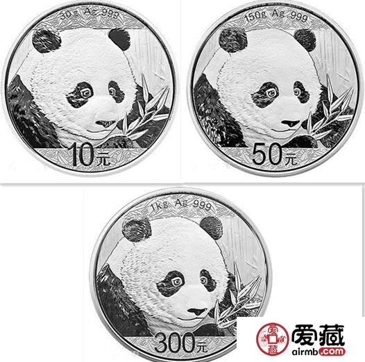 2018版的熊猫纪念银币