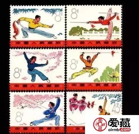 邮票上的中国十大国粹