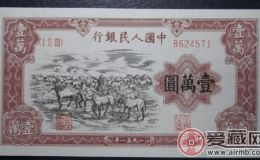 第一套一万元牧马值多少钱