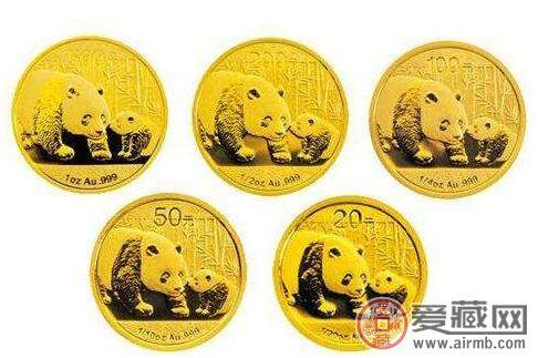 2008年熊猫金币套装值多少钱