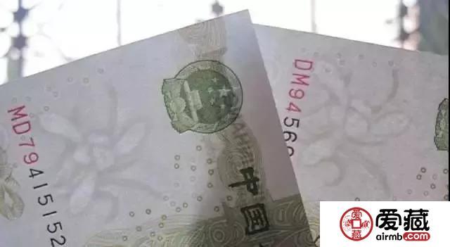 大叶兰 :99版纸币中的一朵奇葩