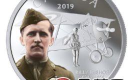 加拿大皇家造币厂2月推出新银币,纪念传奇飞行员比利 毕晓