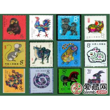 摘要【第一轮生肖邮票价格表】2019年3月如下,仅供参考 第一轮生肖