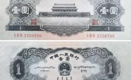 第二套人民幣1元市場價格,紅1元回收