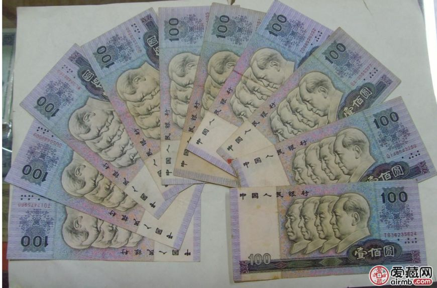 1990年100元人民币最新价格,1990年100元人民币未来是否还能涨价