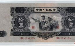 大黑拾元最新價格,大黑拾元值多少錢?