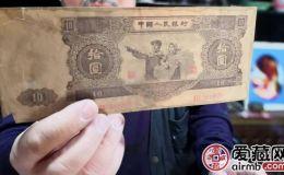 为什么第二套人民币大全套15张中的十元券叫大黑拾