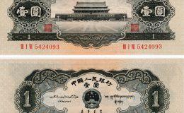 1956年黑一元值多少钱,1956年黑一元人民币价格表