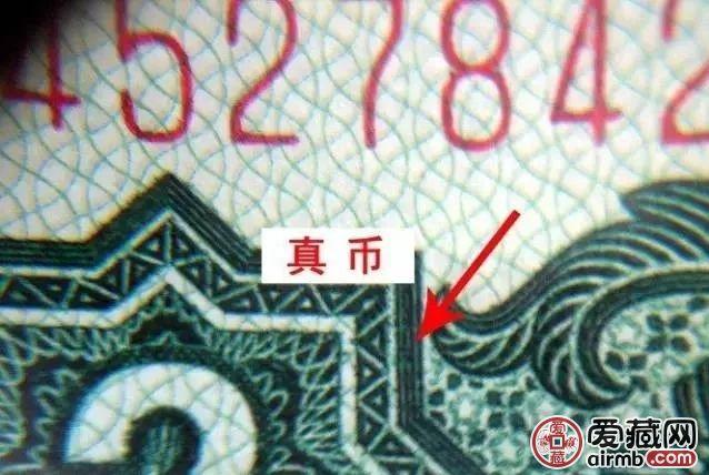 1960年2元真假辨別