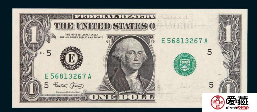 1美元4连体钞图片和价格