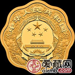 2019生肖金银币猪年金银币15克梅花金币