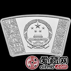 2019生肖金银币猪年金银币30克扇形银币