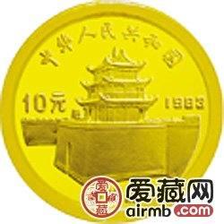 马可·波罗金银币1克马可·波罗头像金币