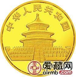 1984年熊猫金银铜币1/10盎司大熊猫金币