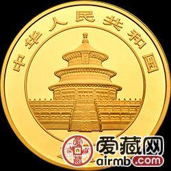 2019年熊猫金银币100克熊猫金币