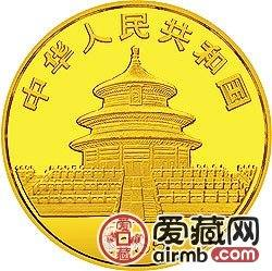 1985年熊猫金银铜币1/10盎司大熊猫激情乱伦