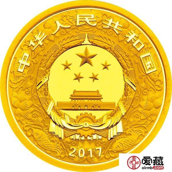 2017中国丁酉鸡年金银币3克激情乱伦