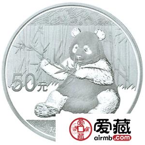 2017年熊猫金银币150克熊猫银币