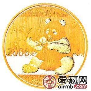 2017年熊猫金银币150克熊猫金币
