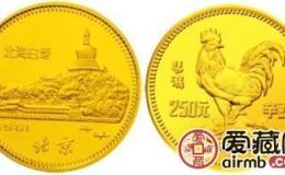 1981年金银币我国首套生肖金银币面世