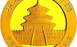 中國建設銀行成立60周年金銀幣熊貓加字1/4盎司金幣