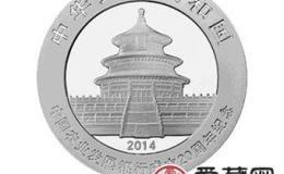 中国农业发展银行成立20周年金银币熊猫加字银币