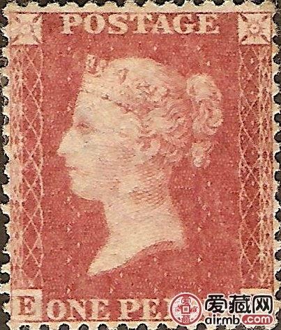 世界上第一枚郵票出現在哪個國家
