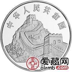 中国古代科技发明发现金银铂币1盎司蝴蝶风筝铂币