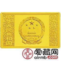 水滸傳金銀幣及5盎長方形司呼延灼月彩色金銀幣