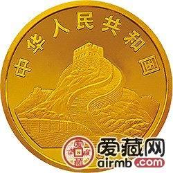1993年观音纪念币1/10盎司挥柳观音金币