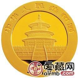 2010版熊猫金银币1盎司熊猫金币