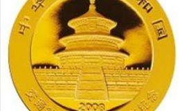 交通银行成立100周年金银币熊猫加字1/4盎司金币