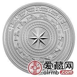 广西壮族自治区成立50周年金银币1盎司银币