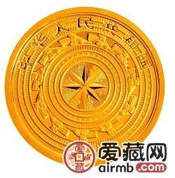 广西壮族自治区成立50周年金银币1/4盎司金币