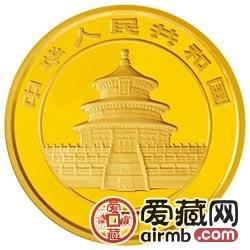 2009版熊猫金银币1公斤金币