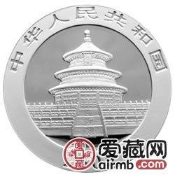 2009版熊猫金银币1盎司银币